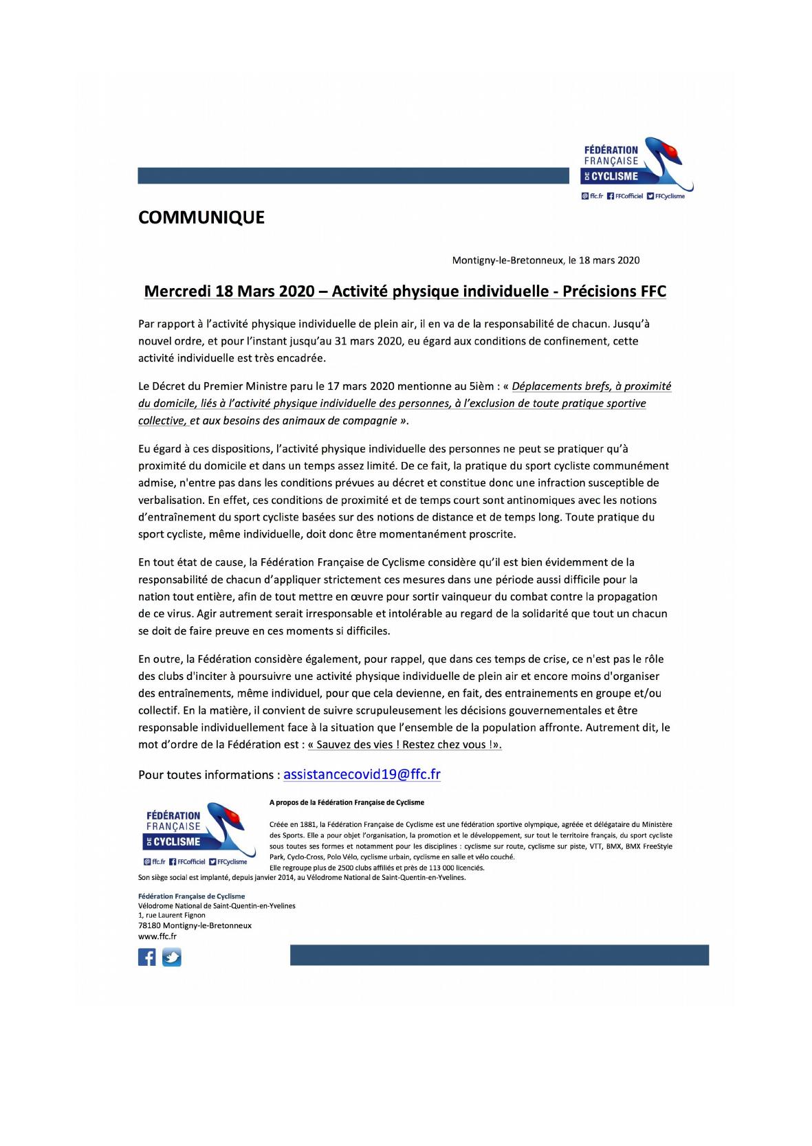COMMUNIQUE DE PRESSE DE LA FFC.png
